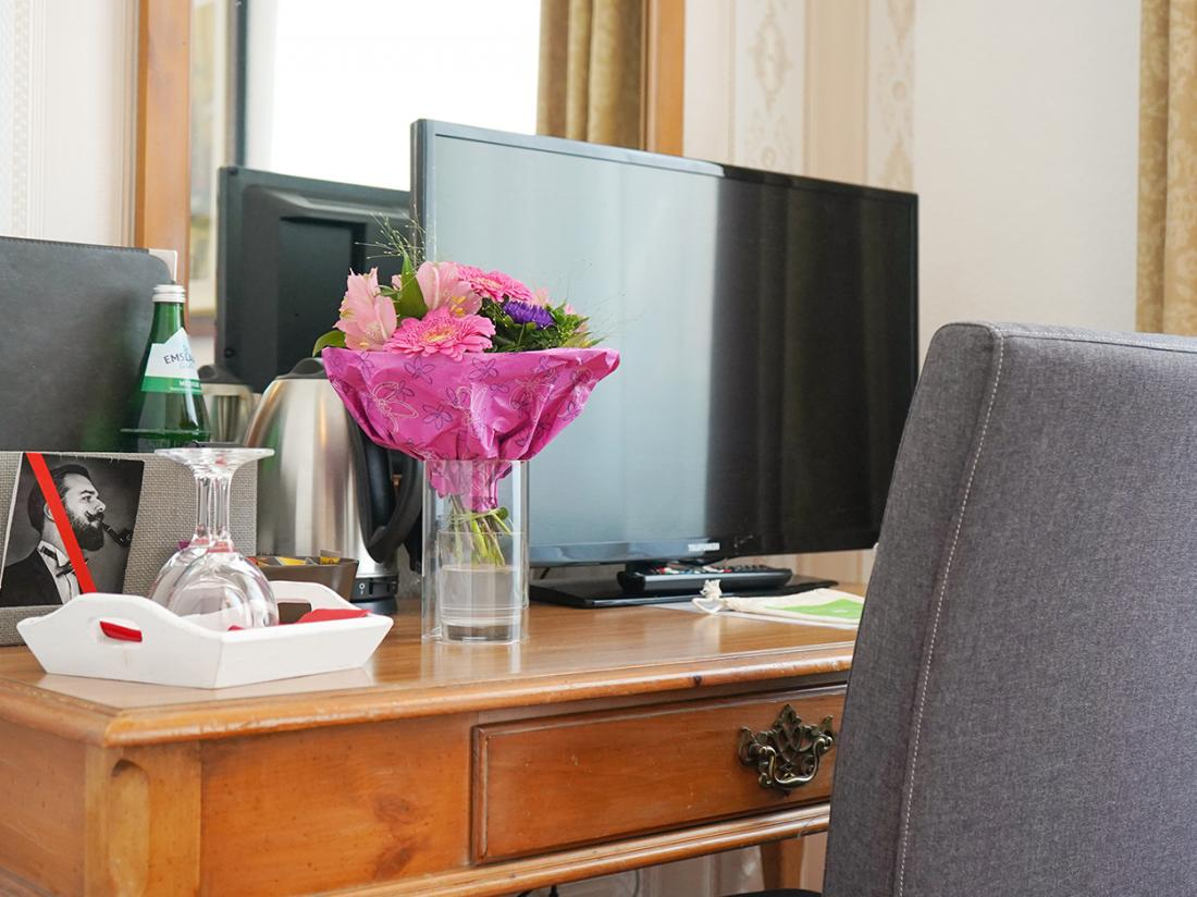 Hotelarrangement Duitsland Hotelkamer TV