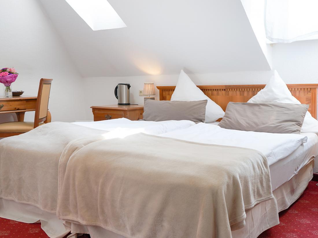 Weekendjeweg Duitsland Bad Bentheim Hotelkamer
