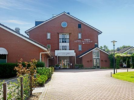 Fletcher Hotel Restaurant Heidehof Friesland aanzicht