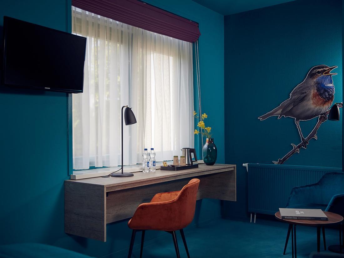 Hotel Prins Hendrik Texel Oosterend Blauw