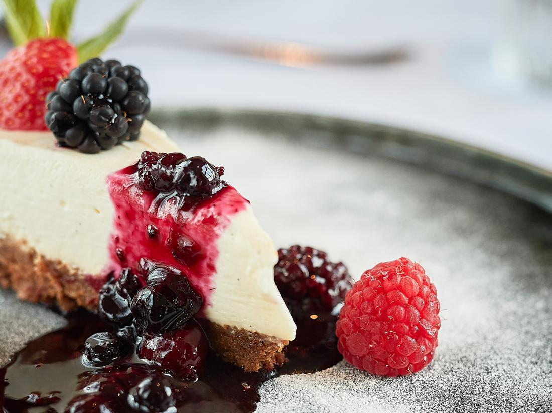 Hotel Prins Hendrik Texel Oosterend Cheesecake