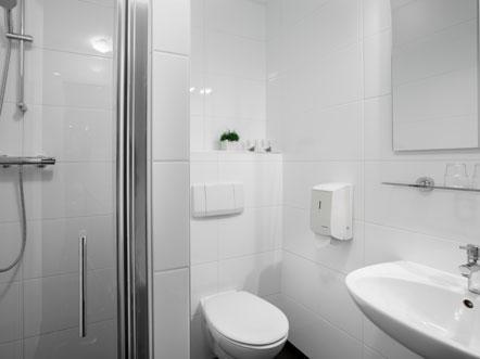 Hotelaanbieding Hotel Prins Hendrik Texel Standaard Comfort Badkamer