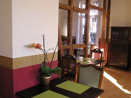 Hotelaanbieding Hotel Villa Opdensteinen Duitsland Ontbijtzaal