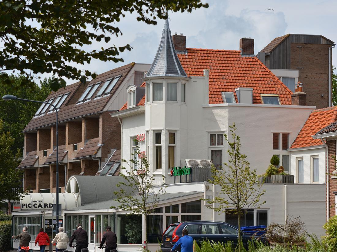 Hotel Restaurant Piccard Vlissingen Vooraanzicht