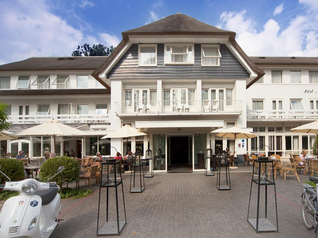 Fletcher Hotel Mallejan Vierhouten Buitenaanzicht