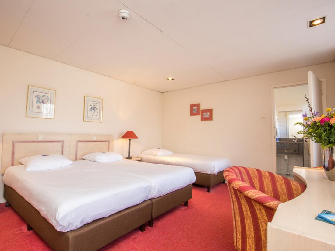 Vierhouten slaapkamer Mallejan hotel