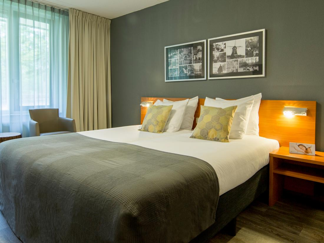 Hotel Mennerode Weekendje Weg Genieten Hotelkamer
