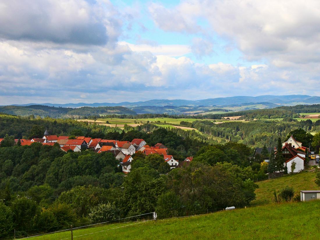 Natuur Omgeving Hessen Duitsland