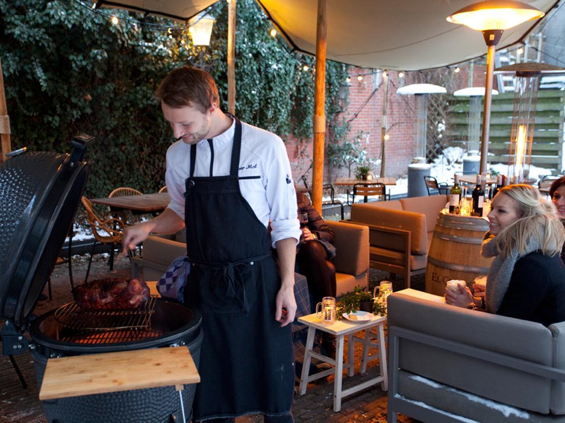 Hotelarrangement groningen terras schimmelpenninck diner
