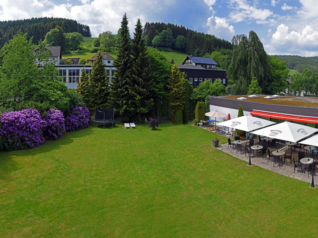 Hotelaanbieding Hotel Niedersfeld Terras