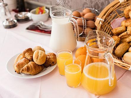 Europ Hotel Brugge Ontbijt