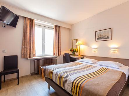 Hotelarrangement Brugge Hotelkamer