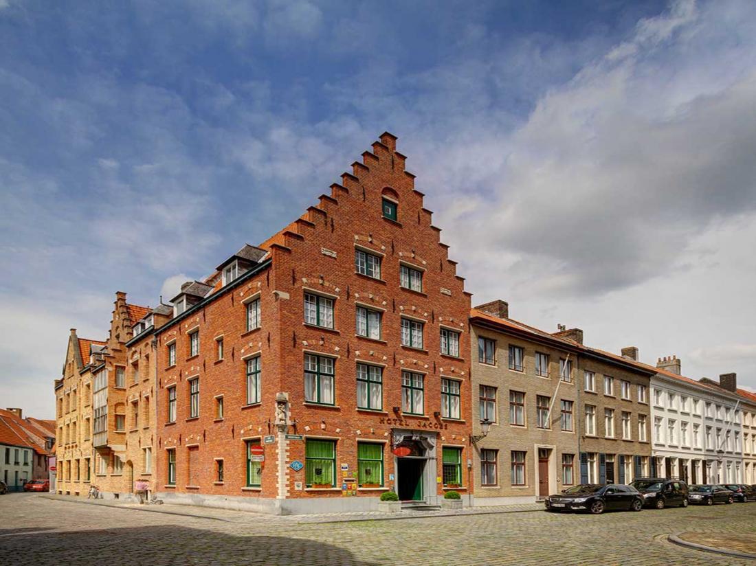 Jacobs Hotel Brugge Vlaanderen Belgi hotelaanbieding