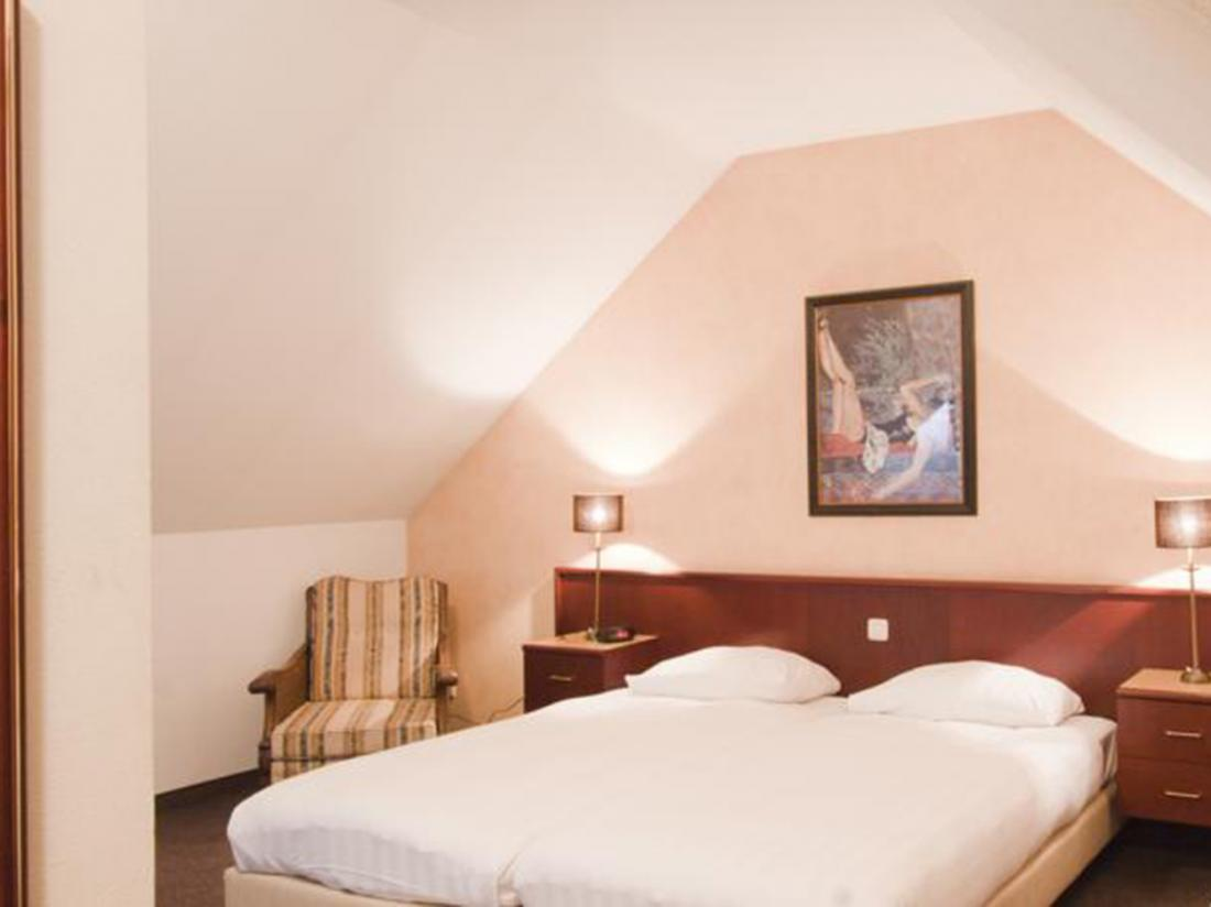 Weekendjeweg Hotel la Sonnerie Kamer