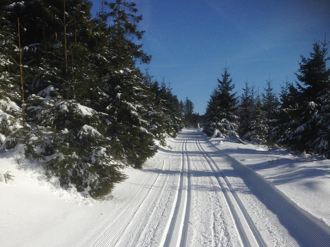 Gasthof Westfeld Schmallenberg Duitsland Sneeuw