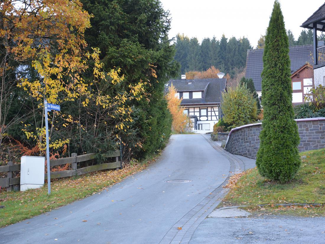 Gasthof Westfeld Schmallenberg Duitsland Straat
