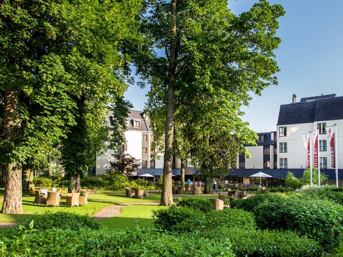 Hotel Schaepkens van Sint Fijt Valkenburg Limburg Buitenaanzicht Hotel Exterieur