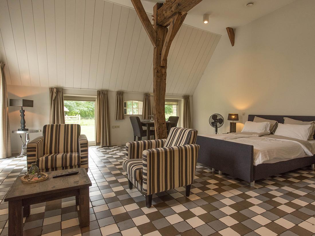 Slaapkamer de Zwiese Loozen