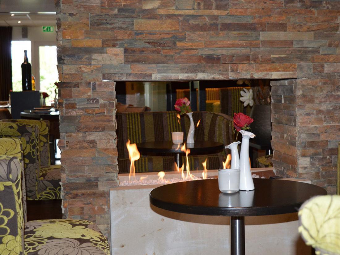 Hotel de rozenstruik zithoek