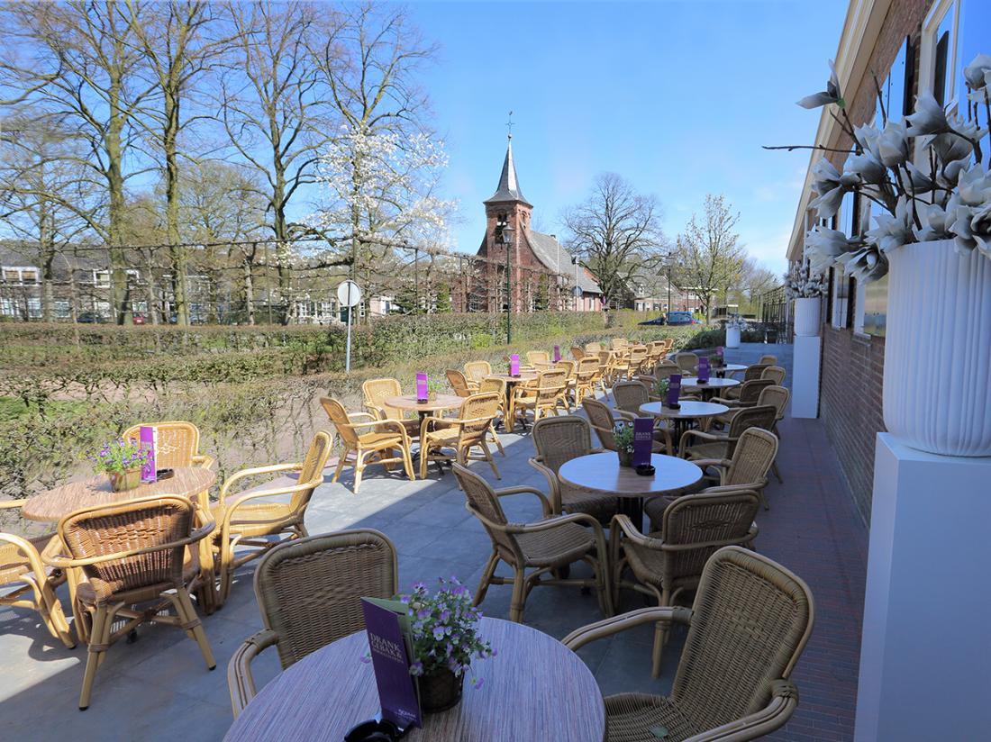 Hotel dePostelseHoeve Tilburg TerrasHalf