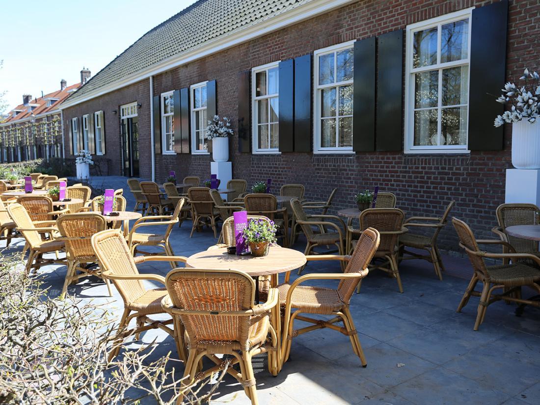 Hotel dePostelseHoeve Tilburg TerrasZon