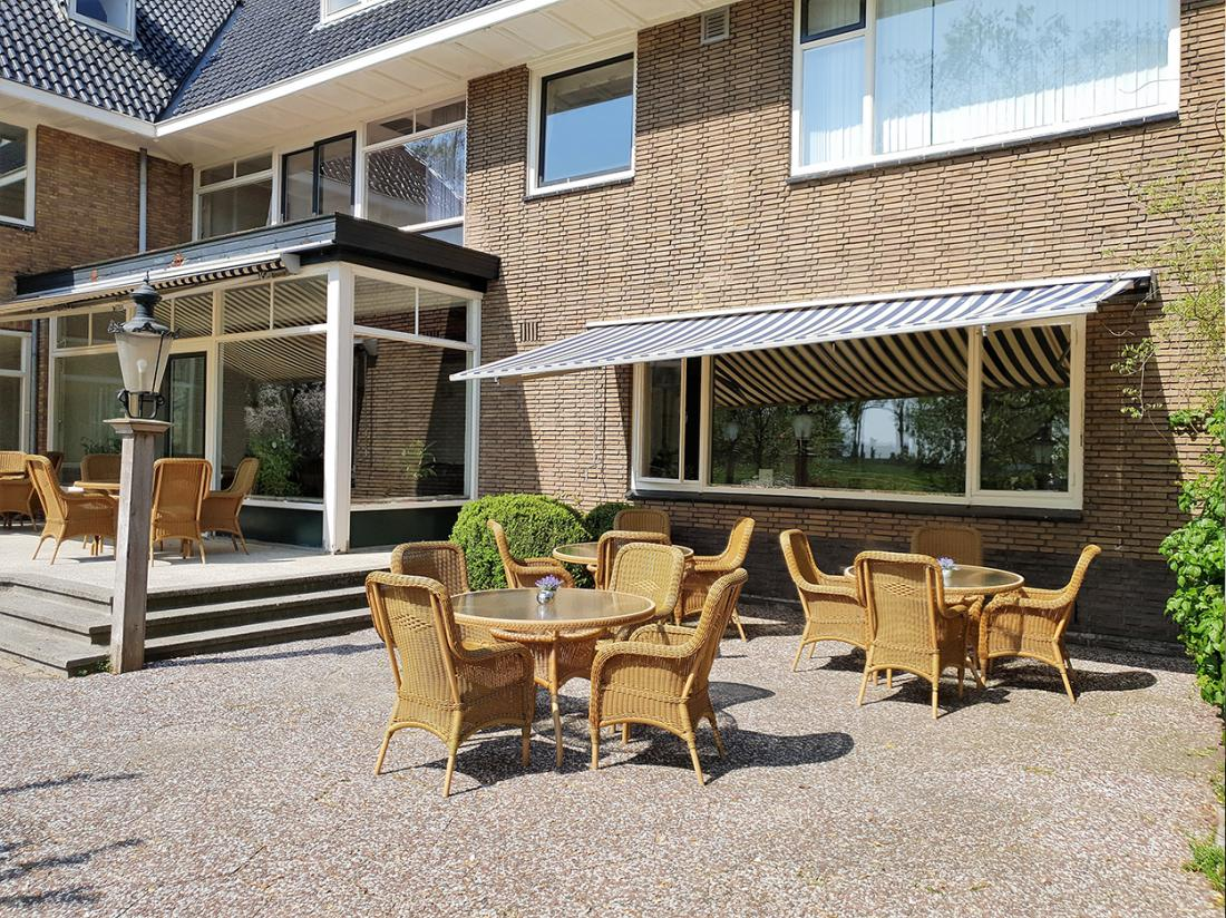 Hotel Wyllandrie Twente Ootmarsum Terras