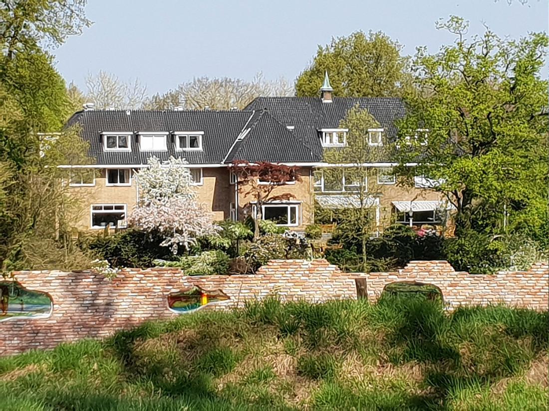 Hotel Wyllandrie Twente Ootmarsum Vooraanzicht Muur