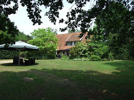 Landhotel de Greune Weide tuin2