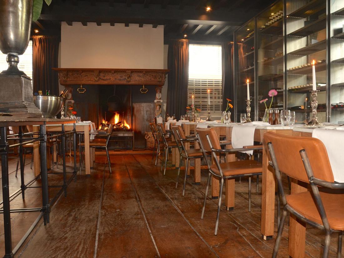 Hotel de Vlijt Coevorden Restaurant Open Haard