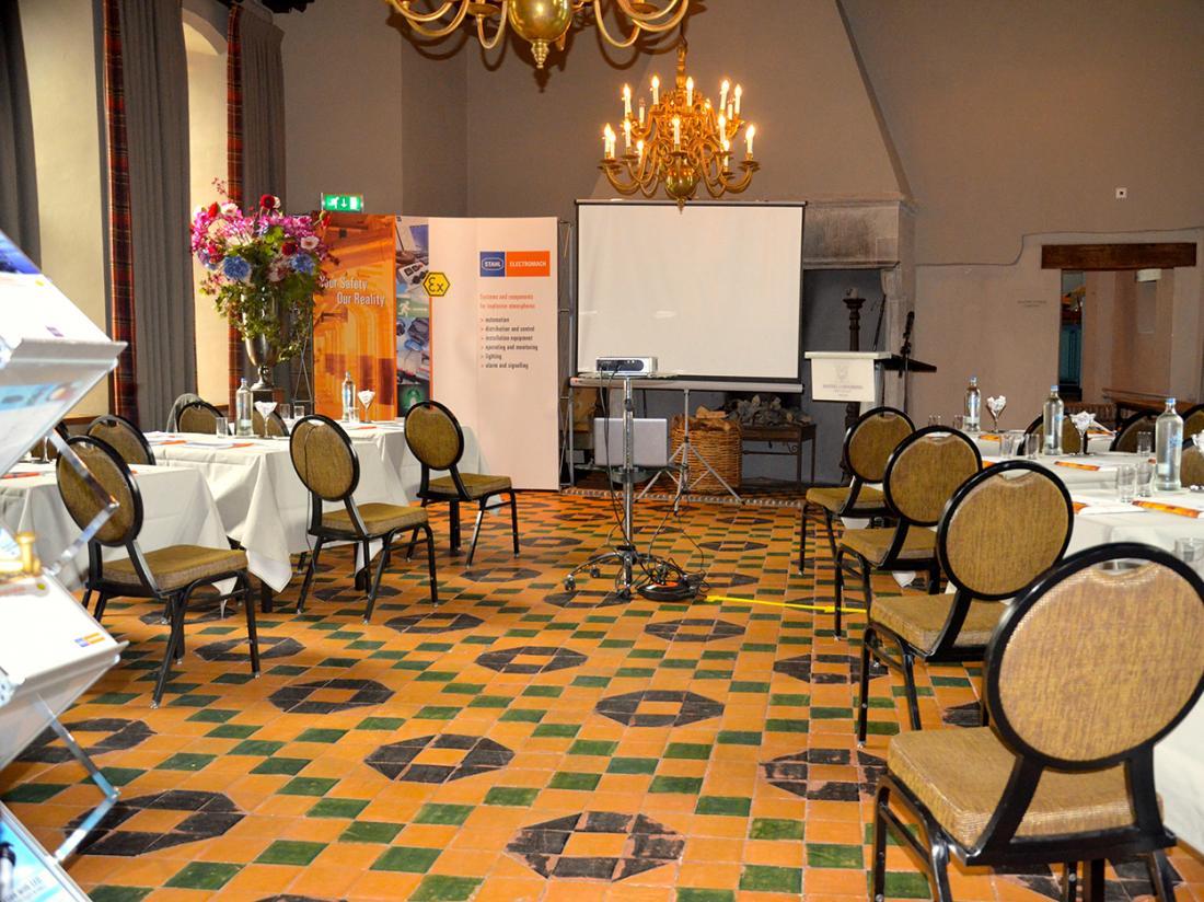 Hotel de Vlijt Coevorden Ridderzaal Bedrijven Presentatie