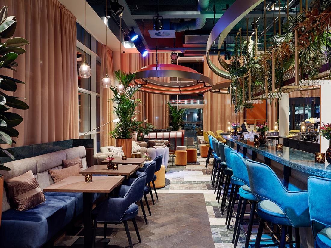 Lindner WTC Hotel city lounge antwerpen