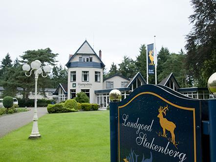 hampshire hotel landgoed stakenberg gelderland ingang