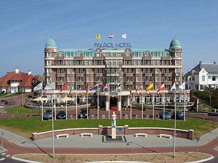 Palace Hotel Noordwijk hotel vooraanzicht