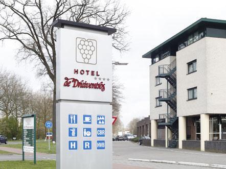 hotel druiventros berkel enschot noord brabant voorzijde