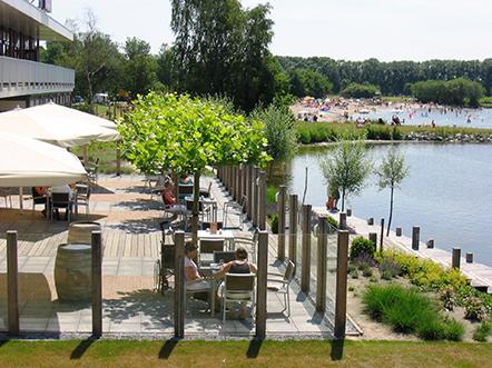 postillion hotel amersfoort veluwemeer terras