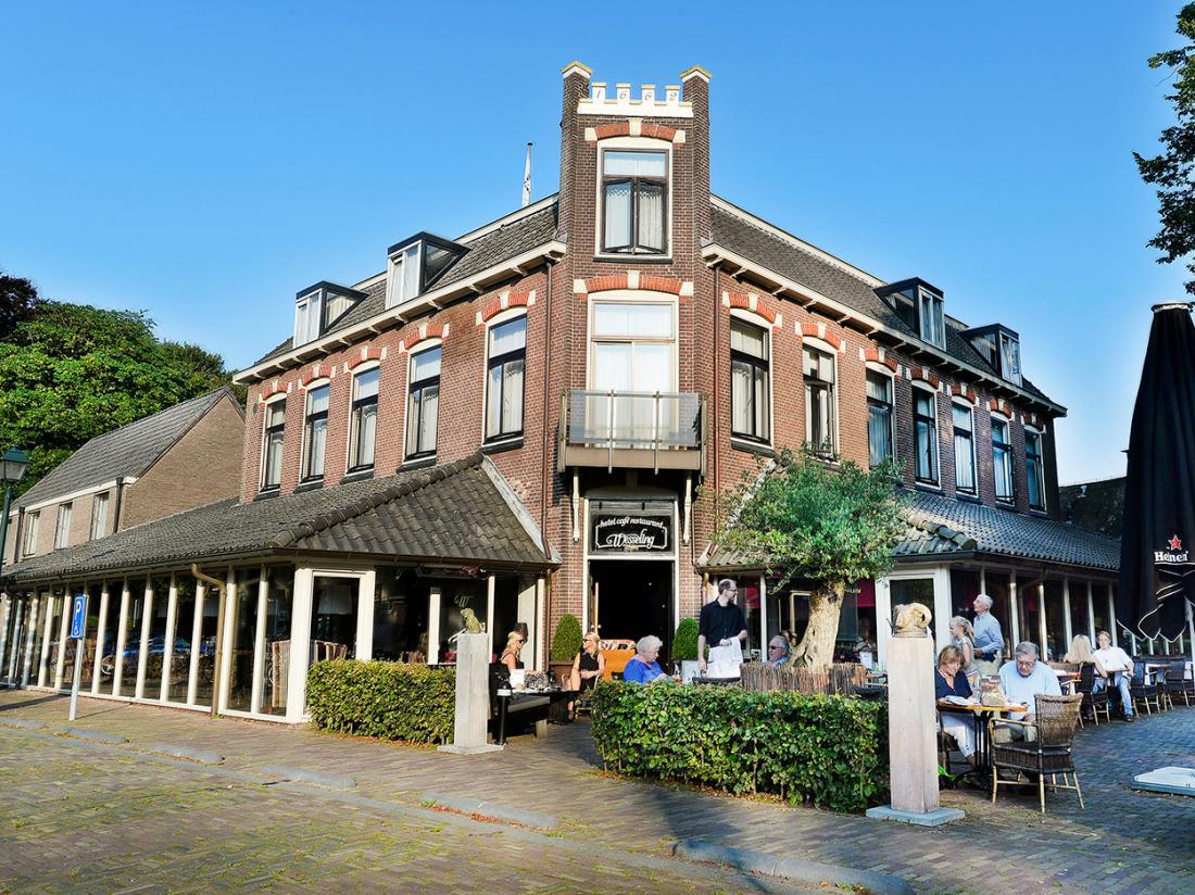 Hotel Wesseling Dwingeloo Terras