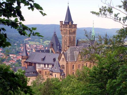 schlosshotel grosser gasthotel ballenstedt kasteel