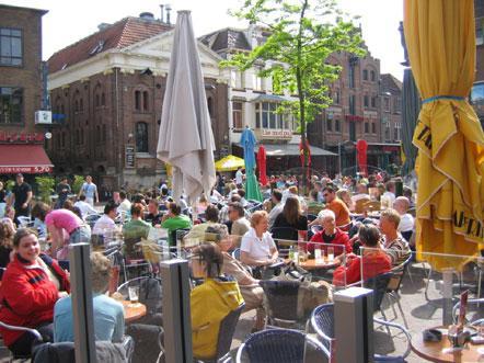 postillion hotel arnhem gelderland terras