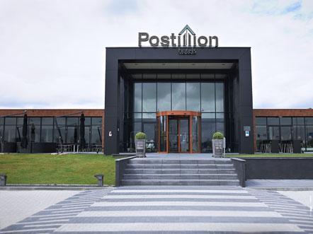 postillion hotel in Utrecht Bunnik entree