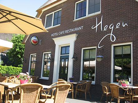 Hotelarrangement Hotel Hegen terras