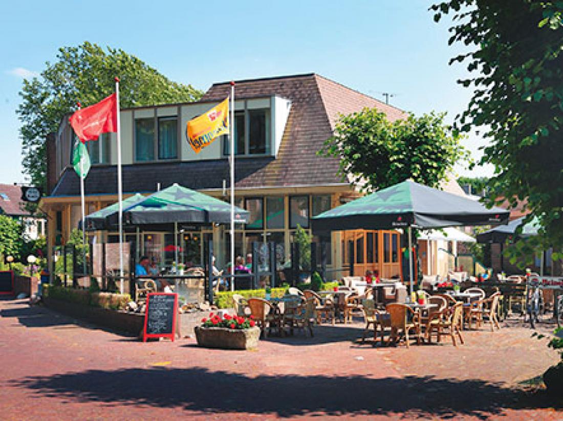 Weekendjeweg Hotel Kuik Ruinen Terras