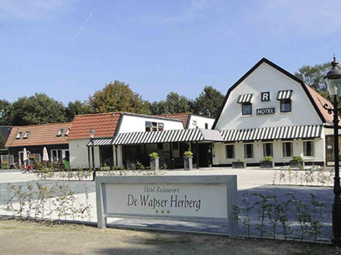 Aanzicht Herberg Wapser