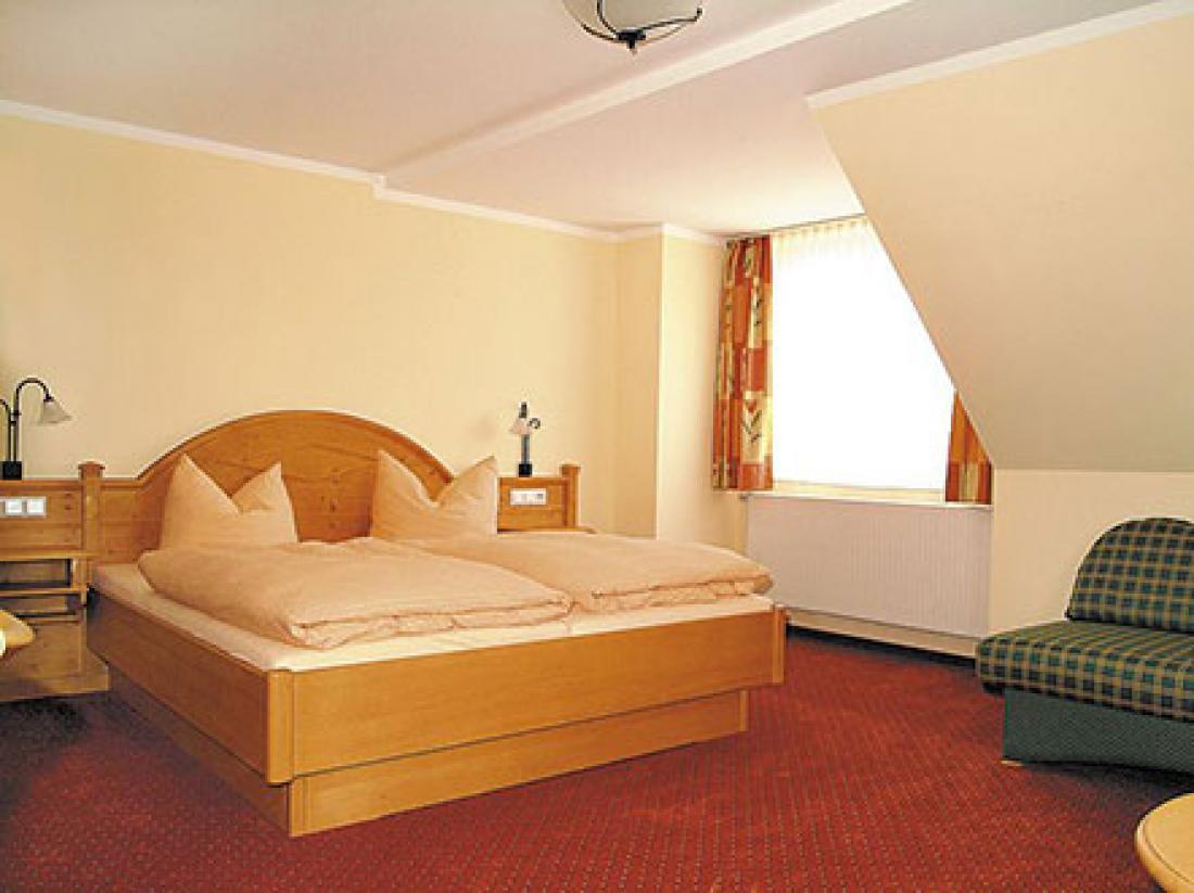 Hotel Igelstadt Duitsland hotelkamer