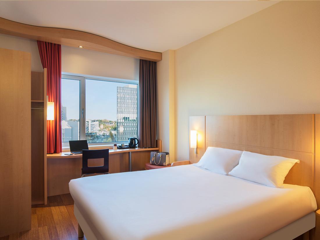 Weekendje weg leiden aanzicht hotel standaard kamer