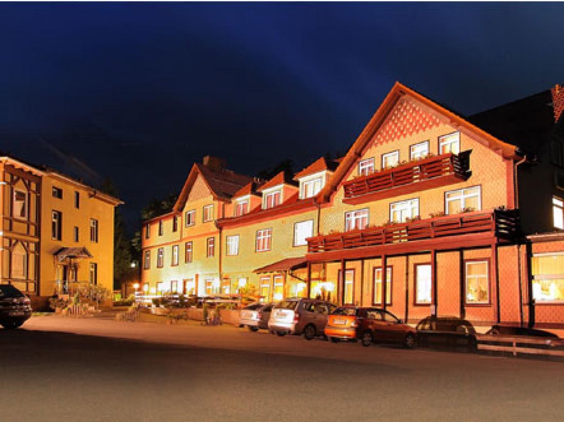 Hotelaanbieding Thuringen Aanzichtavond