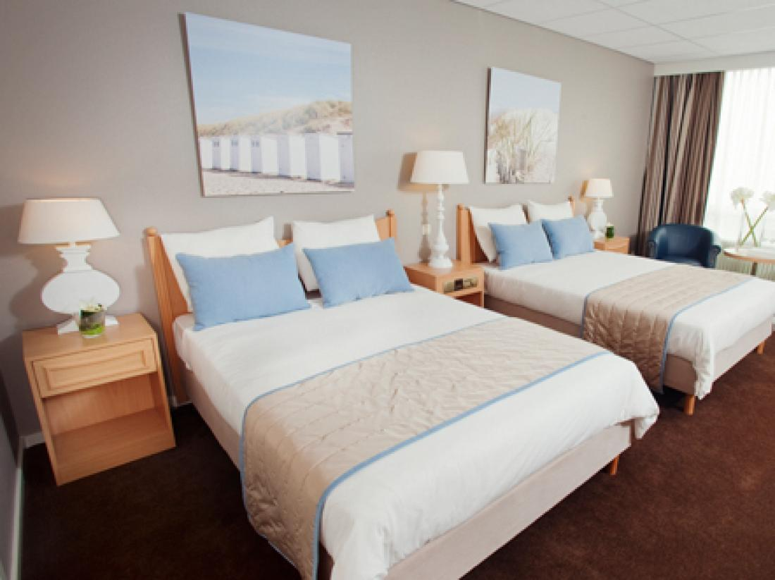 hotelkamer zeezijde