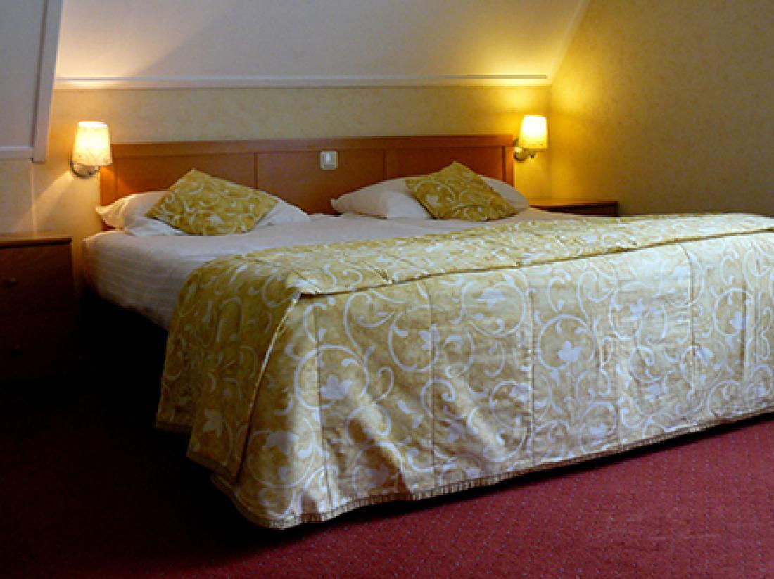 Landhotel de Greune Weide hotelkamer