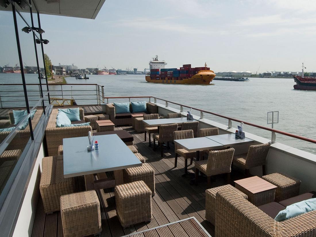 Hotelarrangement Vlaardingen Terras Nieuwe Maas