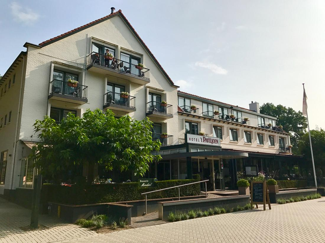 Paviljoen Hotel Rhenen Utrecht Aanzicht