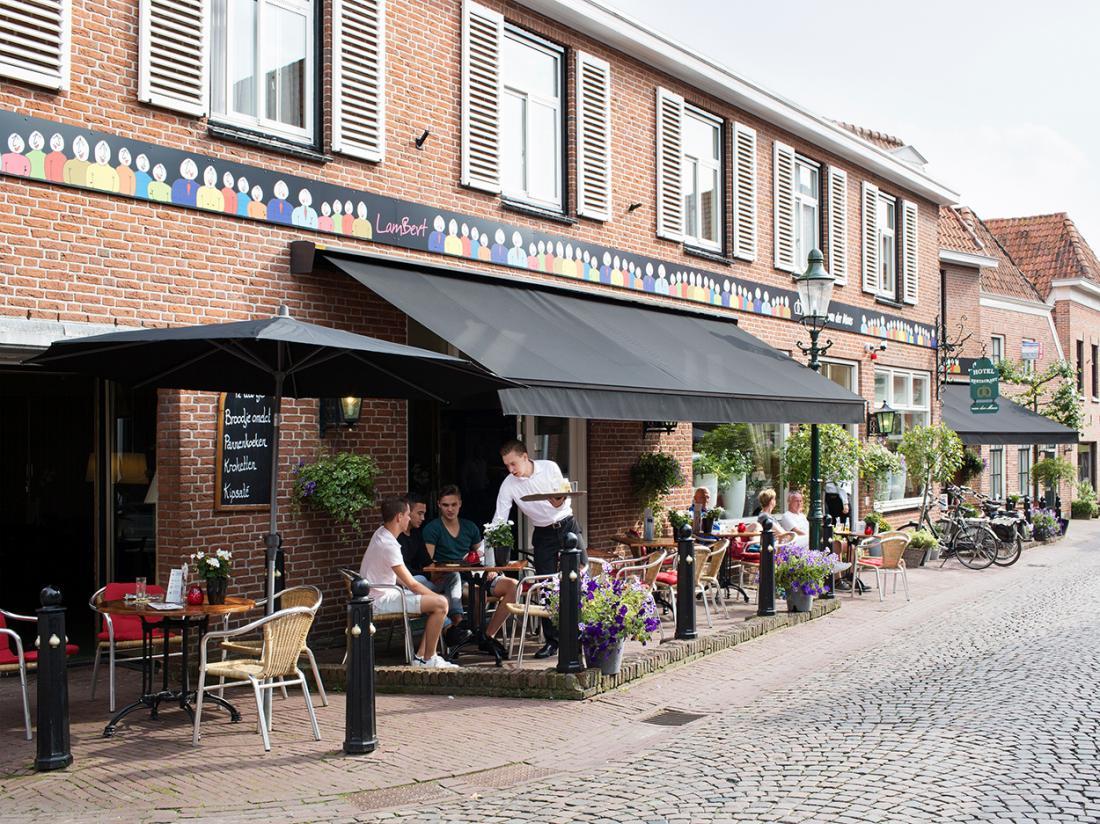 Hotel Maas Ootmarsum Vooraanzicht